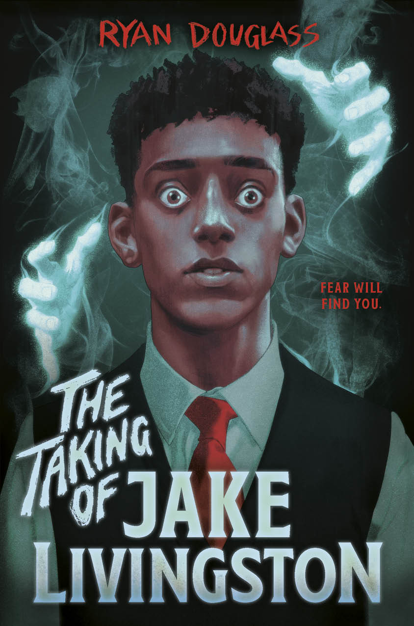 The Taking of Jake Livingston, Mystery, Horror, Ghosts, Young Adult, Cover Love, Paranormal, LGBT, Boy, Ghost Hands, Ryan Douglas,