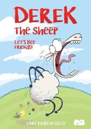 Derek The Sheep: Let's Bee Friends, Gary Northfield, Sheep, Wasp, Farm, Humour, Comics, Gary Northfield