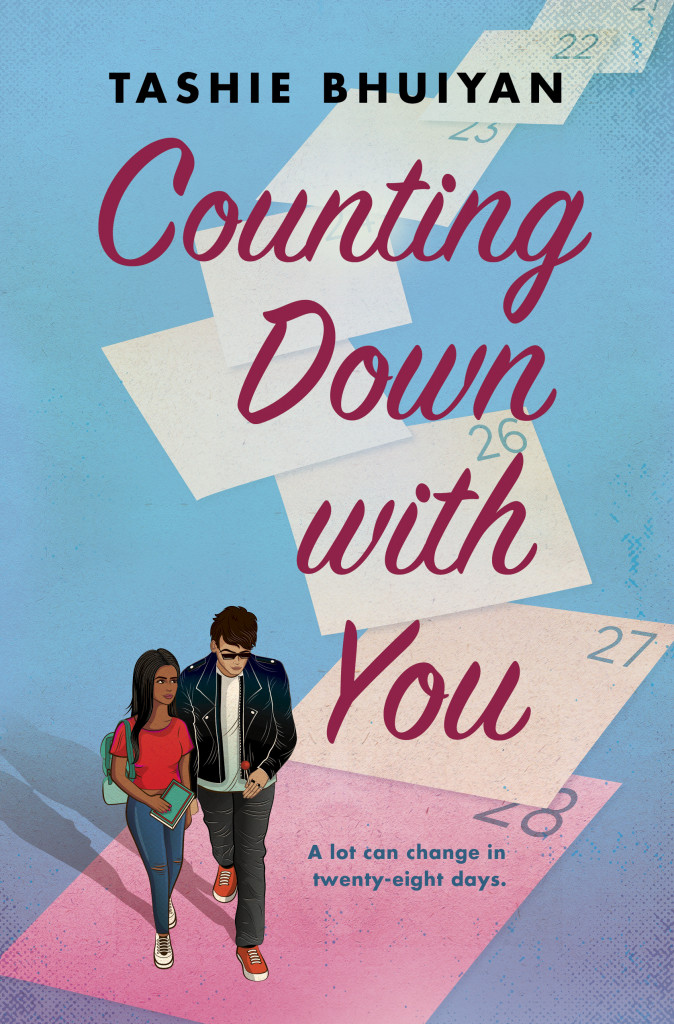 Romance, Young Adult, Girl, Boy, Notes, Calendar, Romance, Fake Dating, Mental Health, Counting Down with You, Tashie Bhuiyan