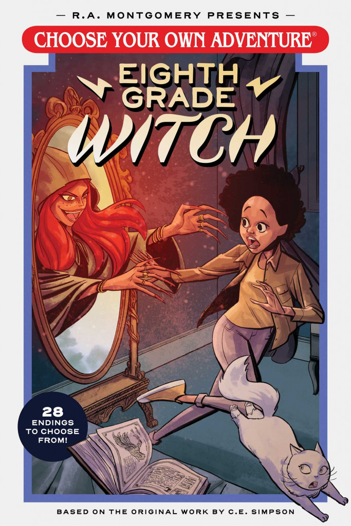Choose Your Own Adventure Eighth Grade Witch, Confusing, Weird, Graphic Novel, Choose Your Own Adventure, Children's Books, Witches, Mystery, E.L. Thoams, Andrew Gaska, Valerio Chiola