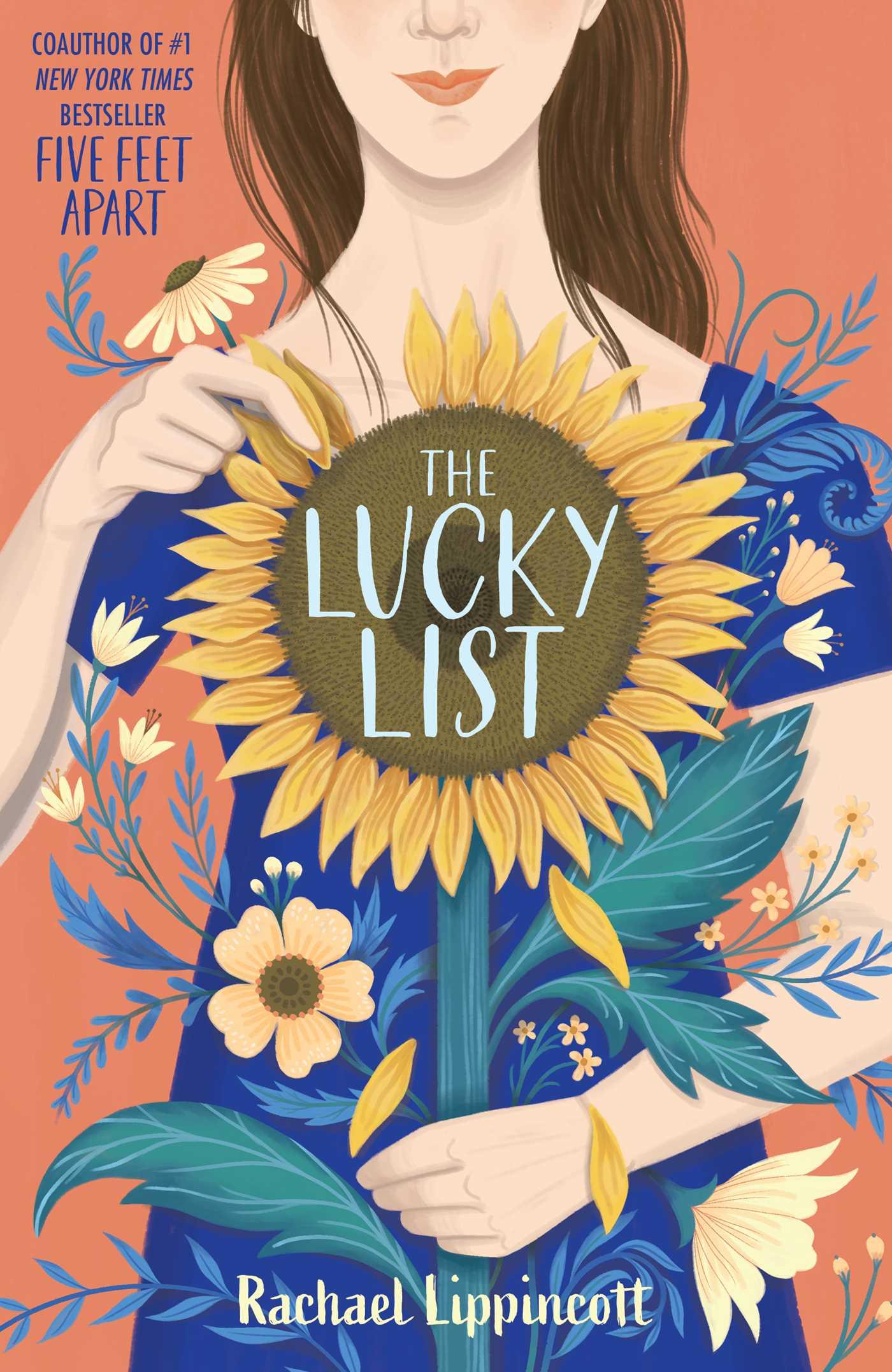 The Lucky List, Rachael Lippincott, Sunflower, Loss, Mourning, Summer, Bucket List, Young Adult, LGBT,