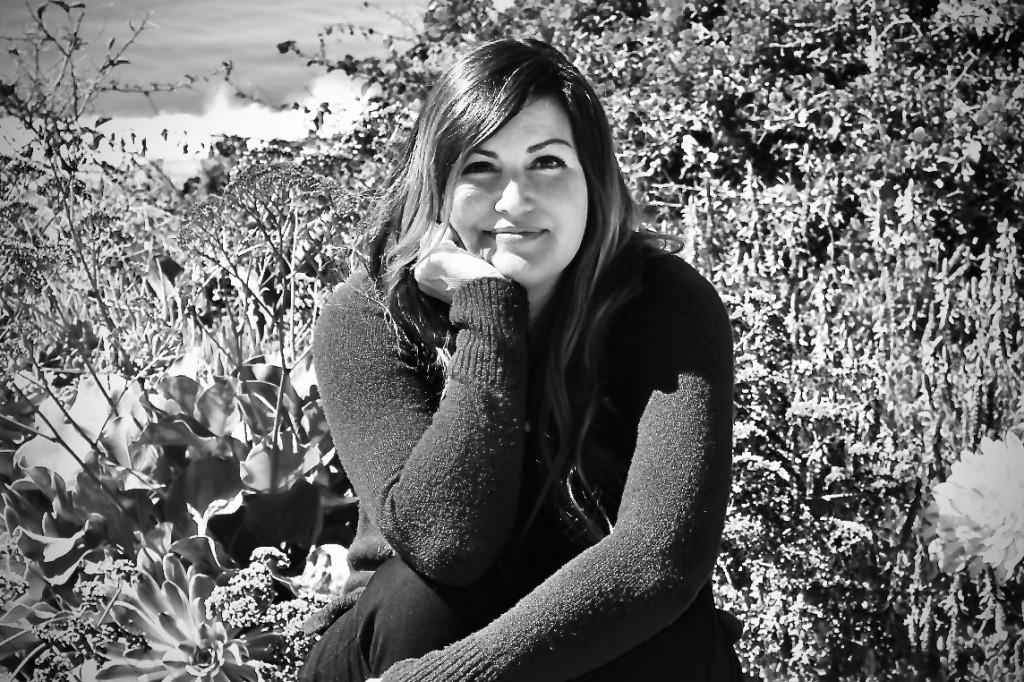 Michele Kwasniewski, black/white, author