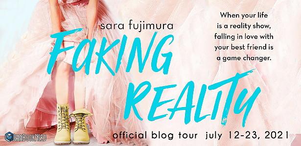 Faking Reality, Sara Fujimura, Reality Show, Romance, Young Adult, Dress, Blue Letters, Romance, Friendship