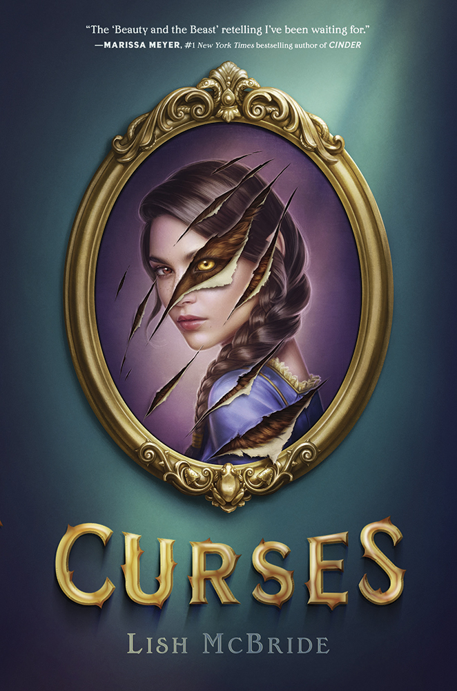 Curses, Lish McBride, Retelling, Romance, Young Adult, Painting, Girl, Rips, Wolf, Beast, Prince, Fantasy,