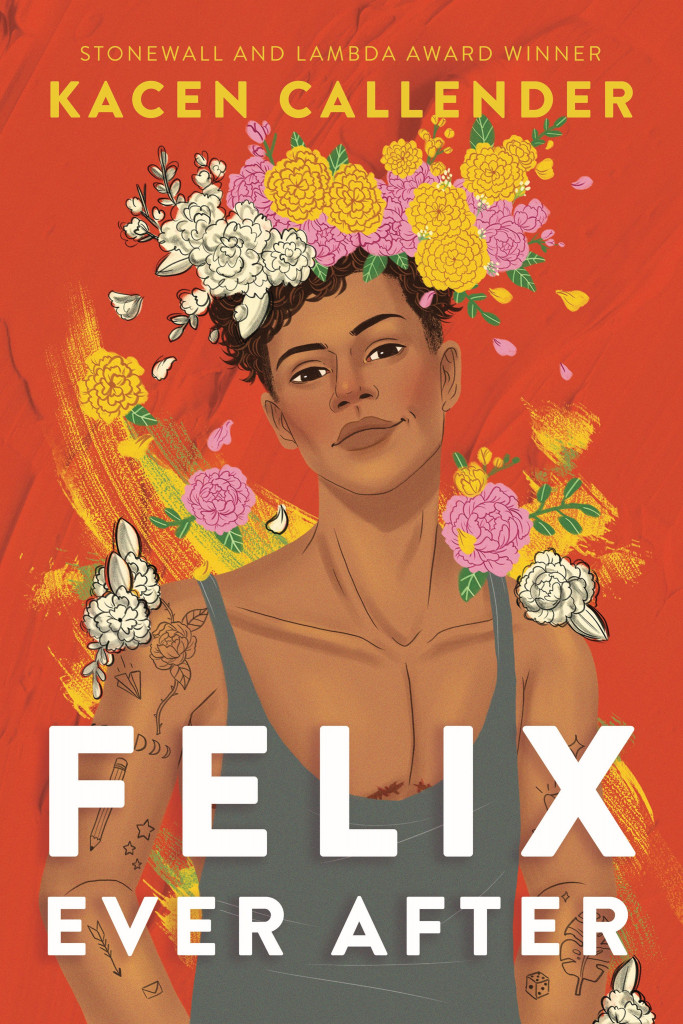 Felix Ever After, Orange, Flowers, Boy, Young Adult, Trans, LGBT, Young adult, Romance