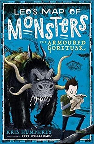 Leo's Map of Monsters, Blue, Monsters, Fantasy, Boy, Guardian, Kris Humprey, Pete Williamson, Children's Books, Annoying Companion
