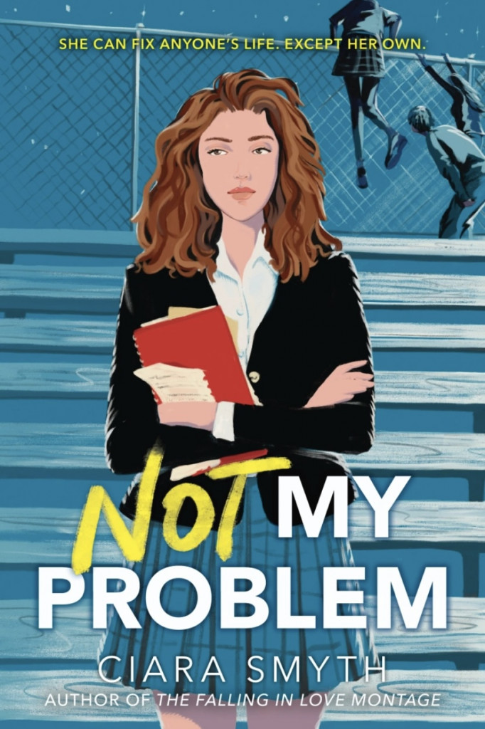 Not My Problem, LGBT, Romance, Young Adult, Contemporary, Girl, Book