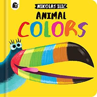 Animal Colors, Toucan, Rainbow, Yellow, Nikolas Ilic, Non-Fiction, Children's Books, Picture Books
