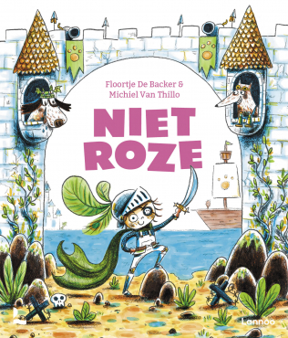 Niet Roze, Floortje De Backer, Michiel van Thilo, Roze, Picture Book, Pink, Children's Books, Cute, Funny, Adventure, Imagination