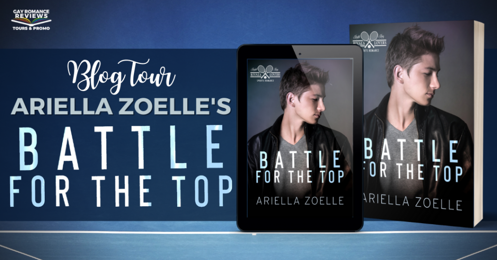 Ariella Zoelle, Battle from the Top, Blue, Guy, Black Vest, Romance, LGBT, Sports, Tennis, Dual POV