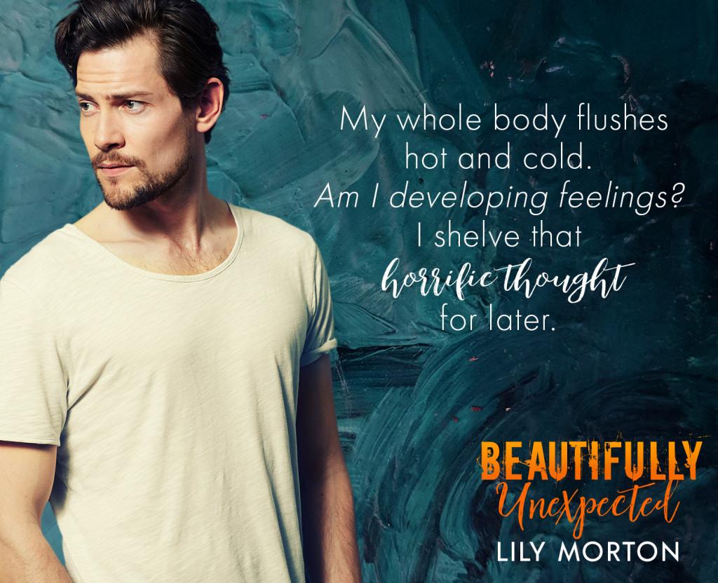 Beautifully Unexpected, LGBT, Romance, Lily Morton, Guy, White Shirt,
