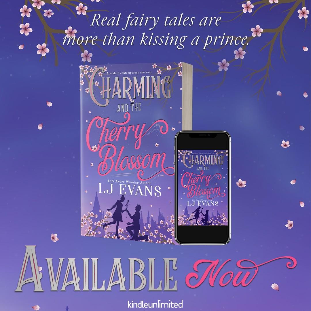 Charming and the Cherry Blossom, Purple, Inheritance, Romance, Purple, Cute, LJ Evans!