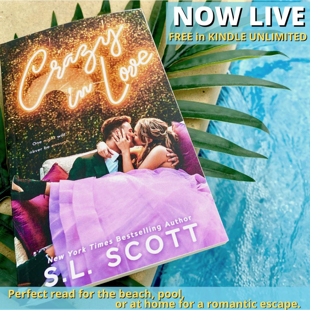 Crazy in Love, S.L. Scott, Romance, Kissing, Dress, Romance, Pregnancy, Second Chances