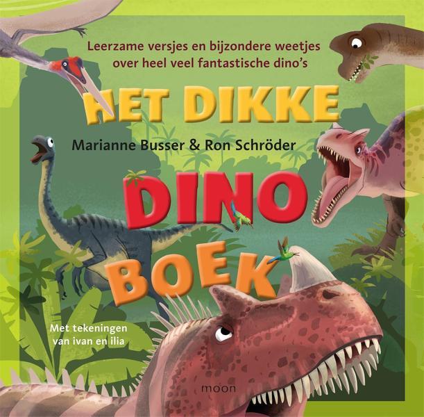Dikke Dinoboek, Non-fiction, Marianne Busser, Ron Schröder