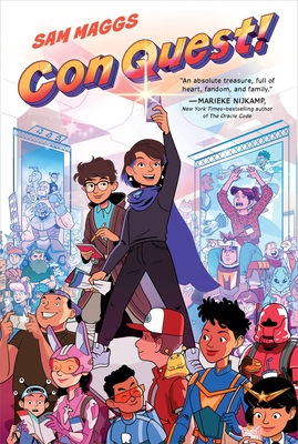 Con Quest, Sam Maggs, Multiple POV, Conventions, Quests, Sister, Brother, Family, Humour, Children's Books