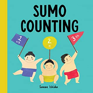 Sumo Counting, Sanae Ishida, Flags, Counting, Language, Japanese, Cute, Picture Book, Children's Books