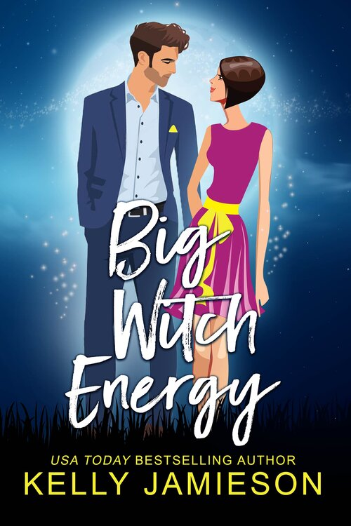 Big Witch Energy, Kelly Jamieson, Blue, Man, Woman, Witches, Magic, Humour, romance,
