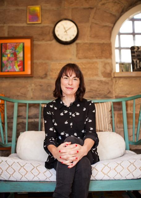 Helen Rutter, Author, Couch, Photograph