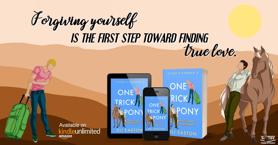 Eli Easton, One Trick Pony, LGBT, Romance, Horses, Blue, Montana, Ranch,