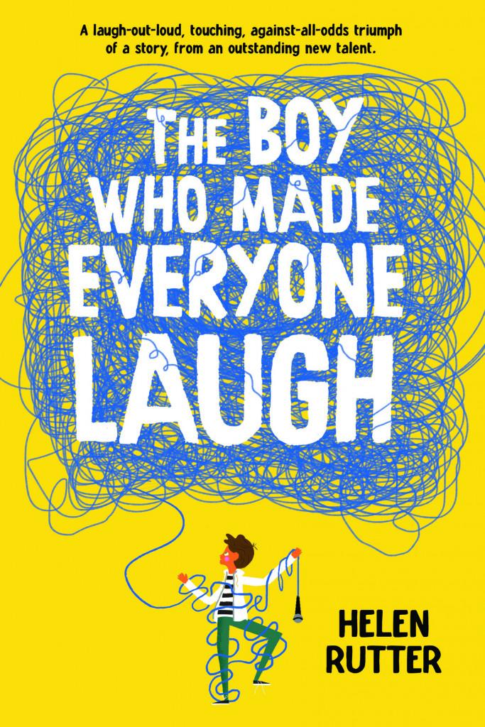 The Boy Who Made Everyone Laugh, Yellow, String, Helen Rutter, Children's Books, Stutter, Jokes,