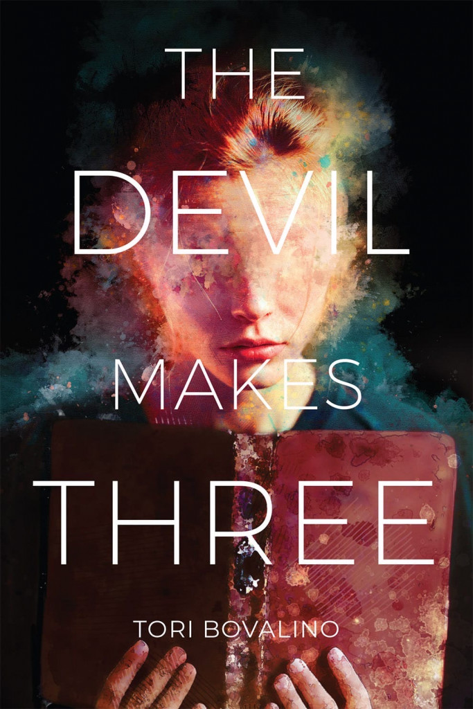 The Devil Makes Three, Tori Bovalino, Demons, Horror, Library, Boarding School, Summer, Young Adult, Cover Love, Nightmares, Face, Reading
