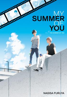 The Summer of You, Kimi wa natsu no naka, vol.1, Nagisa Furuya, Blue, Sky, Boys, Wall, Slice of Life, Manga, LGBT, Shounen-ai, Cute, Romance, Friendship, Movies