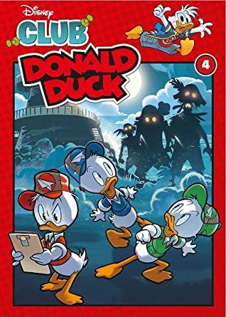 Club Donald Duck, Book 4, Humour, Comics, Children's Books, Donald Duck, Walt Disney, Monsters, Ghosts,