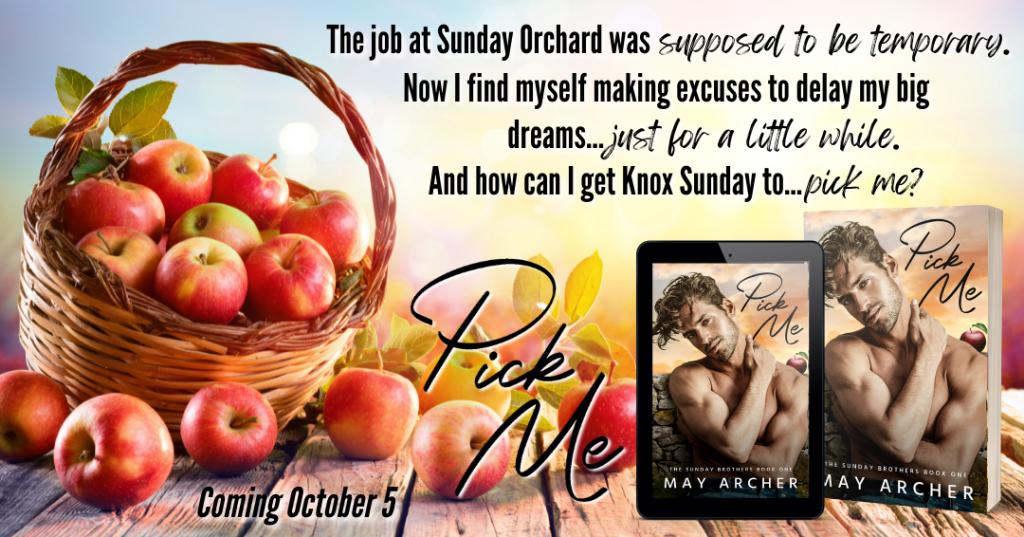 Guy, Half-naked, Orange, Pick Me, The Sunday Brothers, May Archer, Romance, LGBT, Apples, Basket