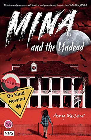 Mina and the Undead, Amy McCaw, House, Girl, Fence, Vampires, Murder, Mystery, Halloween, Spooky,