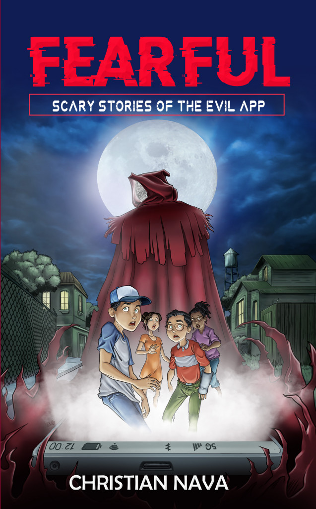 FEARFUL: Scary Stories of the Evil App, Christian Nava, Jesús Duke, Horror, Brothers, Twins, Friendship, Scary, Monsters, App, Phone, Family,
