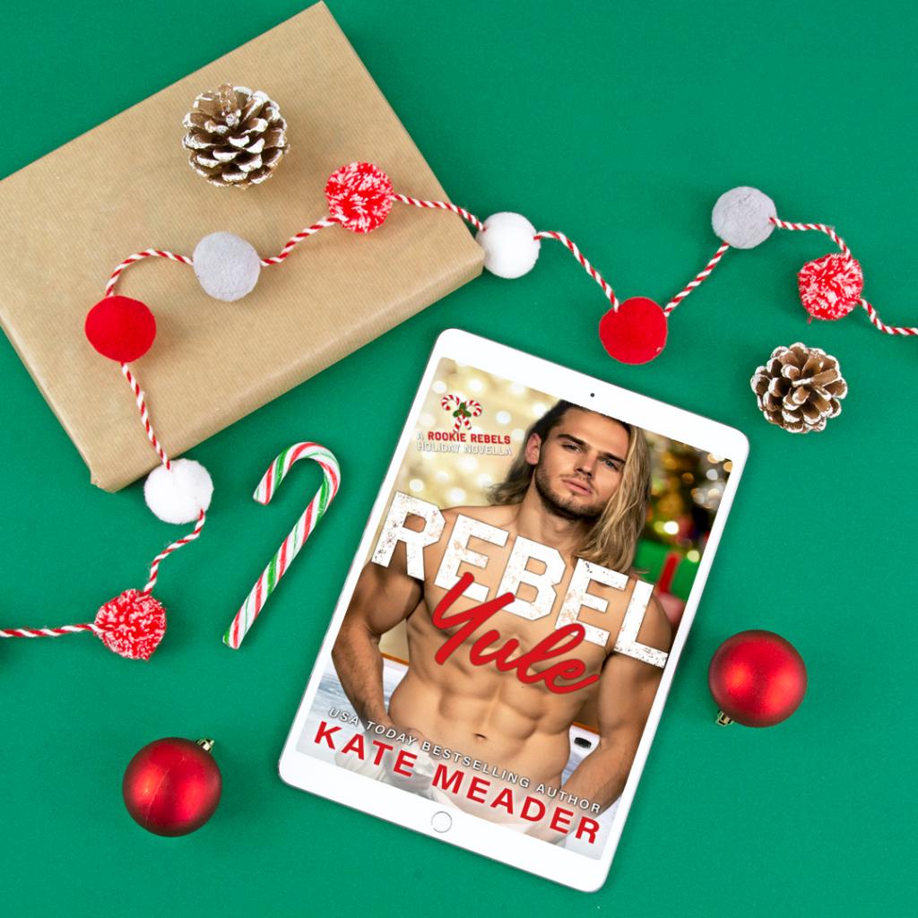 Rebel Yule, Half-naked Guy, Sports, Hockey, Holidays, Romance, Christmas, Green, Red