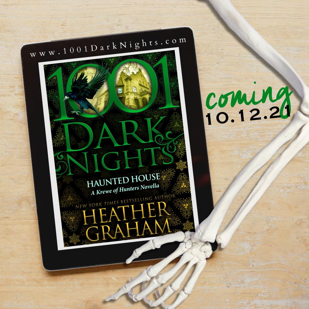 Haunted House, 1001 Dark Night, Green, Halloween, Murder, Supernatural, Ghosts, Krewe of Hunters, Heather Graham, Skeleton Arm
