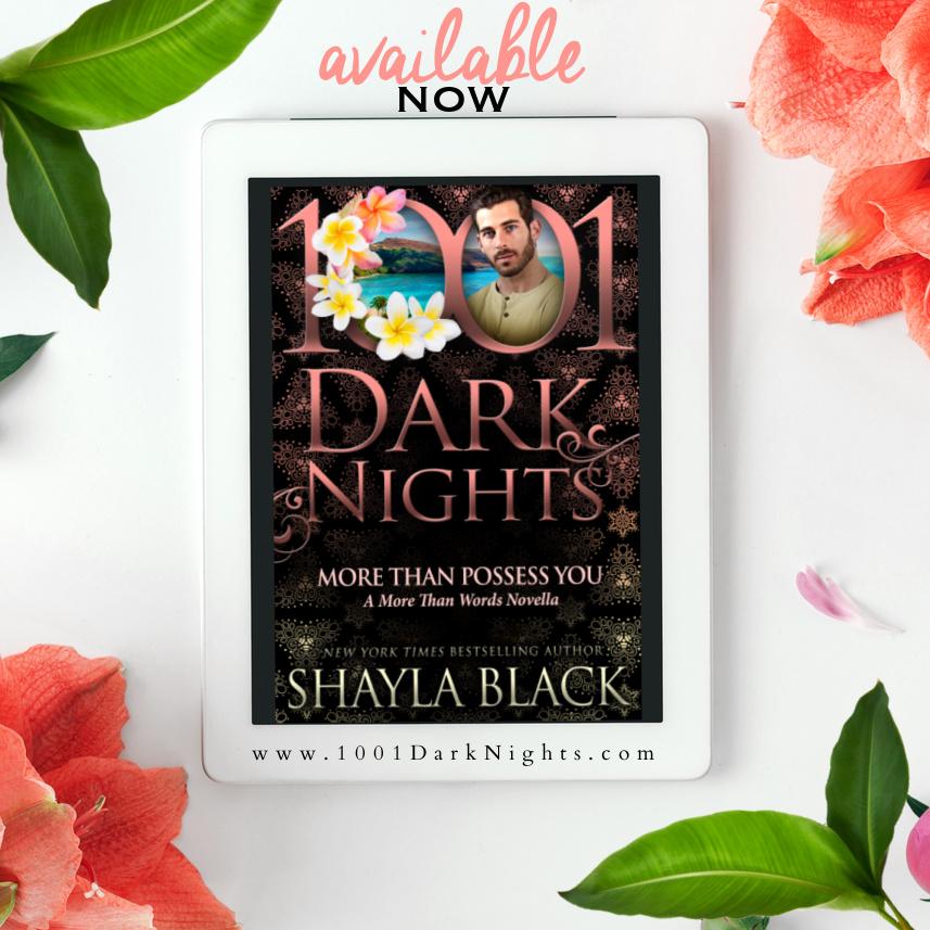1001 dark nights, Shayla Black, Romance, Island, Vacation, More Than Words