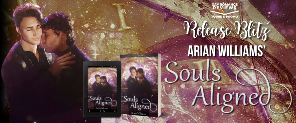 Souls Aligned, Arian Williams, Hugging, Kissing, Romance, Paranormal, LGBT, Tasier