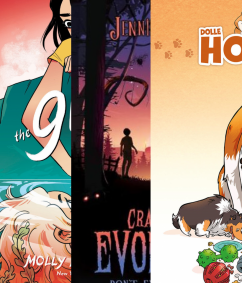 Top 10, September, Comics, YA, Children's Books, LGBT, Romance, Cute