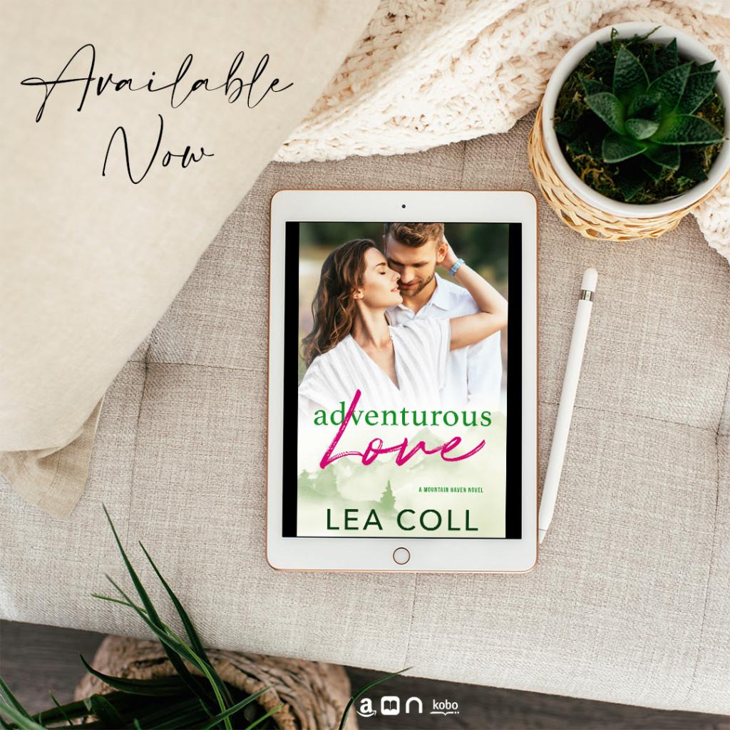 Adventurous Love, Mountain Haven, Romance, Dual POV, woman, man, Hug, mountains, trees, cute, Lea Coll